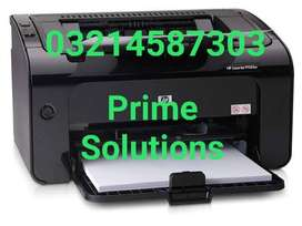 HP 1102W wifi Printer available and also Photocopier Scanner availabl