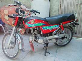 Honda 70 fully geniune in new condition