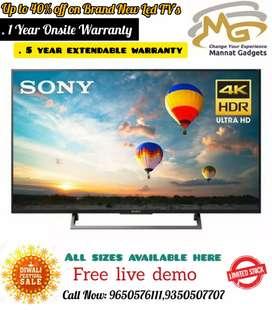 50 inch smart LED TV // Mega discounted Sunday offer