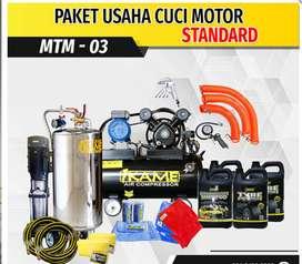 PAKET PERALATAN USAHA CUCI MOTOR STANDART MTM-03