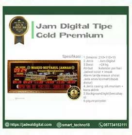 SEDIA JAM DIGITAL TIPE GOLD PREMIUM