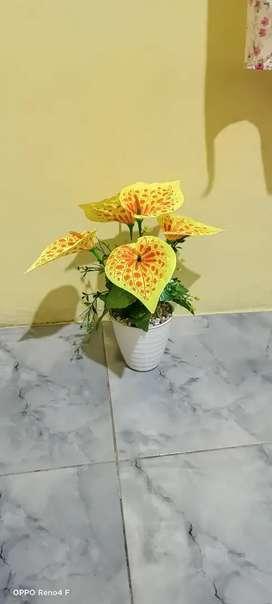 di jual bunga plastik