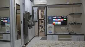Sewa Apartment Type Studio Kebagusan City Full Furnished