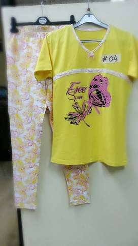 girls pajama suits casually wear (wholesale)
