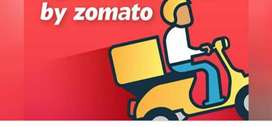 Provide a food delivery jobs in Zomoto
