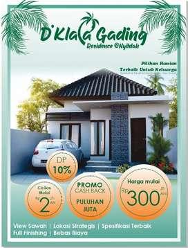 Rumah Super Murah dekat Canggu Harga Spesial Cicilan Mulai 2jtaan