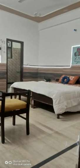 AC Fully furnished room couple's friendly