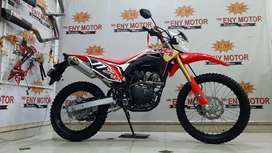 Gas Bosku. Honda CRF 150 th 2019 Km 800 Knalpot double