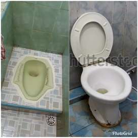 (PAK CANDRA TUKANG WC tumpat saluran air wastafel tumpat  sedot wc