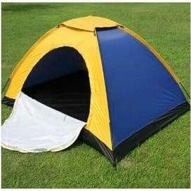 tenda camping kemping dome single layer muat 4- 5 orang 200x200x135cm