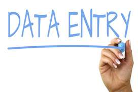 data entry jobs  in 12 pass