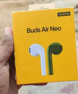 REALME BLUETOOTH WIRELESS NEO AIR BUDS SEALED WITH WARRANTY