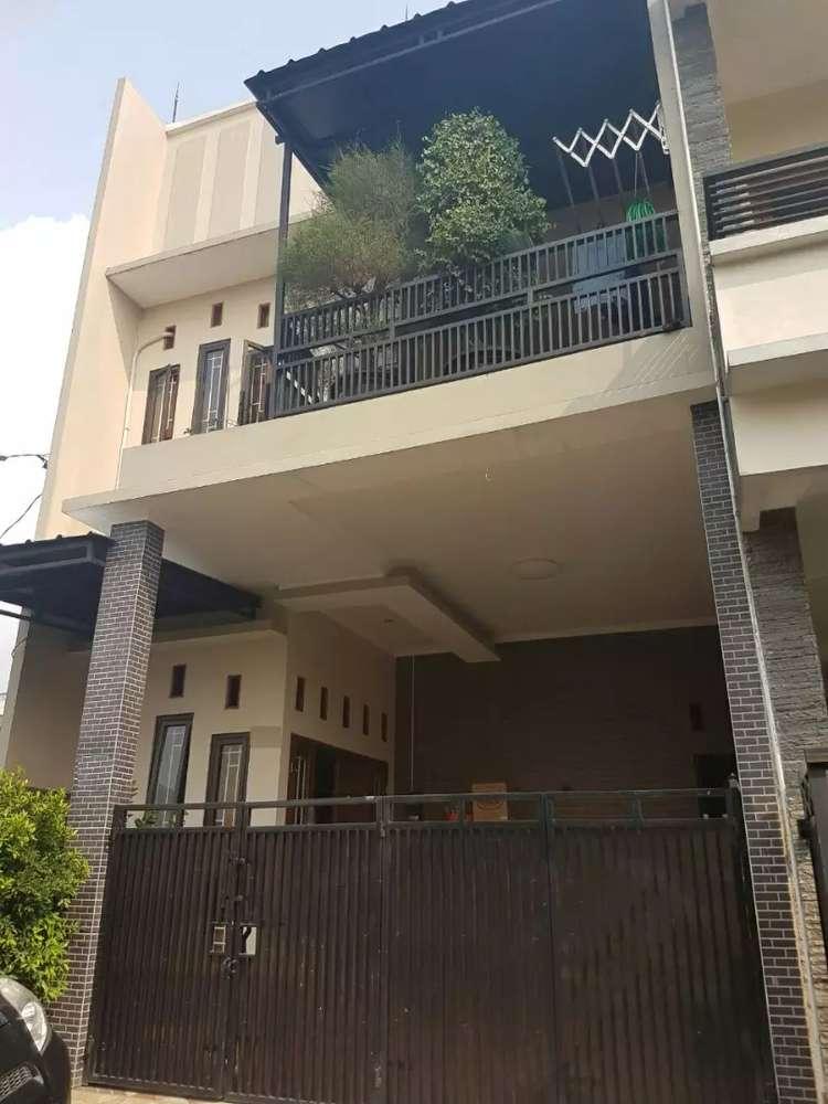 rumah dua lantai minimalis dijual murah