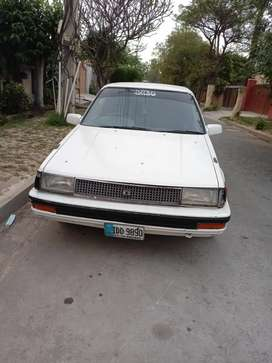 TOYOTA COROLLA 1986 WITH 2.0D ENGINE.