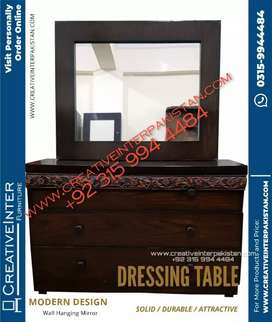 Dressing table new style center table sofa cum bed Wardrobe iron stand