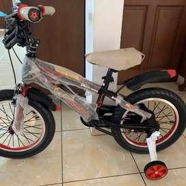 Genio Sepeda anak BMX GC02 Ada Roda Bantuan Pembelajaran Harga Promo