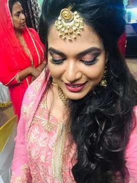 Bridal makeup//party makeup 10,000