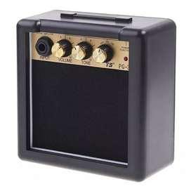 Amplifier Mini Gitar Elektrik 3W - PG-3 - Black