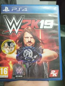 WWE 2K19 PLAYSTATION 4 GAME