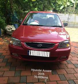 Doctor Used Hyundai Accent 2006 Petrol 70000 Km Driven