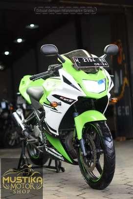 Ninja KRR 2014 SE Edisi Anniversary.Km23rb.Unit Langka.Warno Mustika