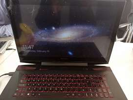 Laptop lenovo y-70, core i7 4th gen touch screen