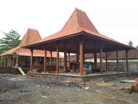 Pendopo Joglo Kayu Jati, Rumah Jawa Joglo dan Limasan Ukir Gebyok