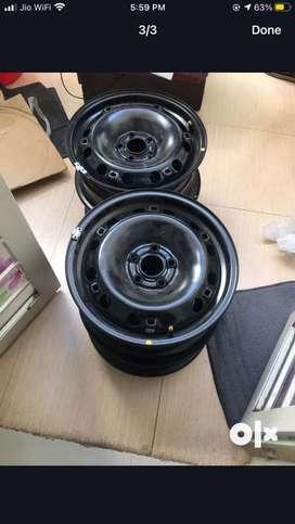 Skoda rapid wheel rim 15