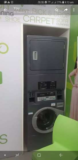 Primus make Commercial washing machine and dryer suitable for laundry