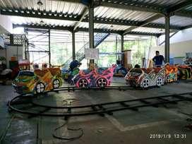 RST Mini coaster kereta lantai odong2 mainan kuda genjot pancingan IIW