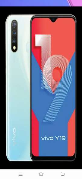 Vivo all new 2020 y19. Just 3 months back purchased