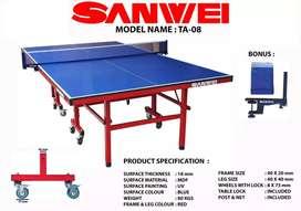 Tenis Meja Ping pong Sanwei TA-08 Impor