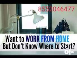 Work From Home, Full Time/Part Time, Online  Work And Offline E-Book