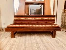 Teakeood Queen sized Sofa-Cum -Bed in excllent condition 10000 /-