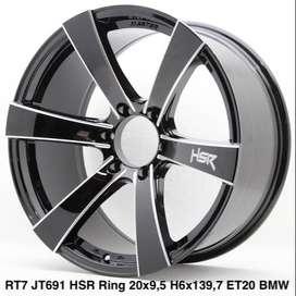 Velg mobil RT7 JT691 HSR R20X95 H6X139,7 ET20 BMW