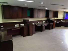2000 Sqt furnished ac office space for rent Kaloor near lisie junction