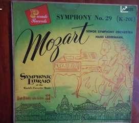 Mozart symphony library - piringan hitam