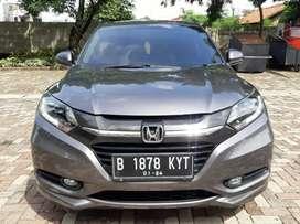 Honda HRV 1.8 Prestige Sunroof Triptonic 2016 Abu Metalik