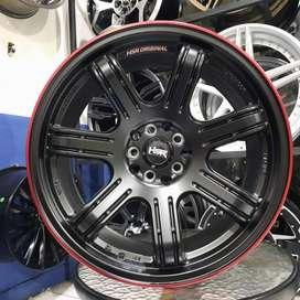 Velg Mobil R18 Xpander Civic Hrv Crv HSR SIAK HSR Ring 18 Baut 5 ET 45