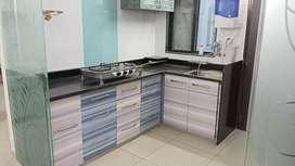 furnished flat in sun pharma road, vadodara