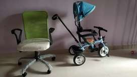 Kid cycle and office Chair for sale