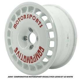 AMW COMPOMOTIVE MOTORSPORT R15x6.5 PCD 4x100 AYLA AGYA BRIO YARIS