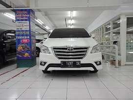 Grand Innova V diesel 2014 putih matik murah kredit proses cepat