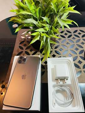 Iphone 11 pro 64GB only one month used