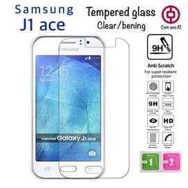 Tempered glass untuk samsung j1 ace