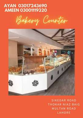 Glass Display Bakery Counter