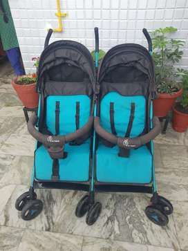 Pram and stroller for Twins
