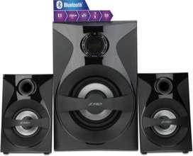 NEW F&D 380X 54 W Bluetooth Home Theatre  (Black, 2.1 Channel)