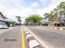 Tanah Pekarangan 458m2 Cocok Usaha,Kost di Samping Gerbang UMY Bantul