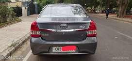 Toyota Etios Xclusive Petrol, 2017, Petrol